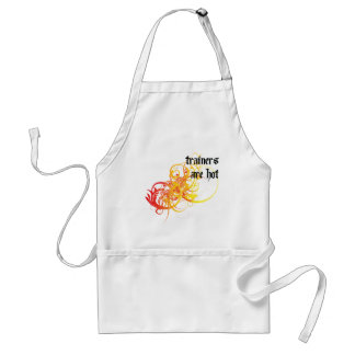 Trainers Are Hot Aprons