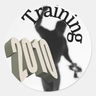 Training 2010 stickers
