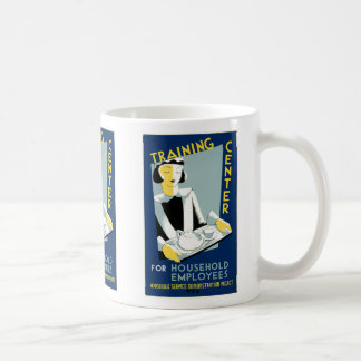 Training Center for Household Employees Basic White Mug