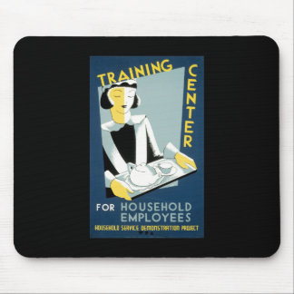 Training Center For Household Employees Mouse Pad