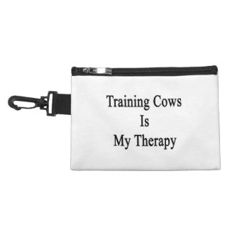 Training Cows Is My Therapy Accessory Bags