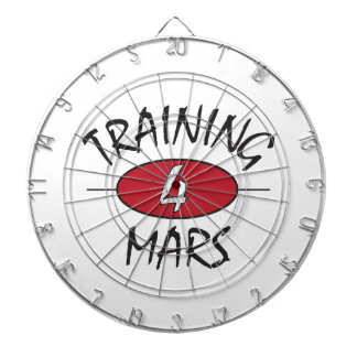 Training for Mars Dartboard