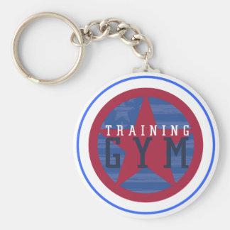 Training Gym Logo Key Chain