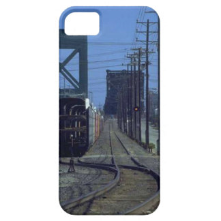 Trains and tracks - Bends and bridge iPhone 5 Cover