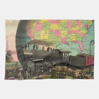 Trains, Planes & Everything Else Tea Towel