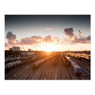 Trains Postcard
