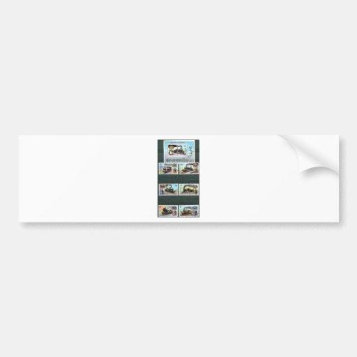 Trains, railways, locomotives 2 bumper stickers