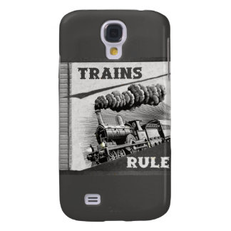 Trains Rule IPhone 3 Case