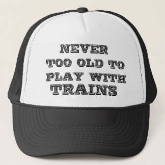Trains Trucker Hat