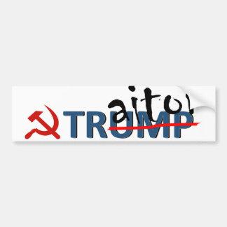 Traitor Trump Bumper Sticker