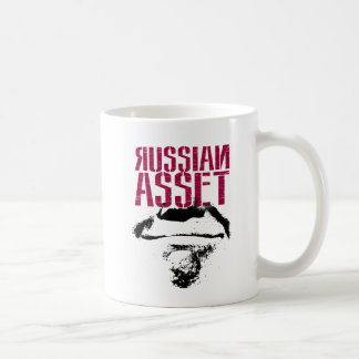 Traitor Trump: Like a Russian Asset; Clapper Coffee Mug