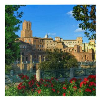 Trajan's forum, Traiani, Roma, Italy Acrylic Print