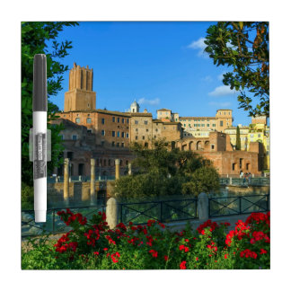 Trajan's forum, Traiani, Roma, Italy Dry Erase Board