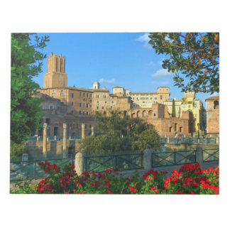 Trajan's forum, Traiani, Roma, Italy Notepad