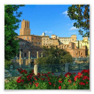Trajan's forum, Traiani, Roma, Italy Photo Print