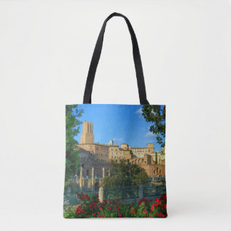 Trajan's forum, Traiani, Roma, Italy Tote Bag
