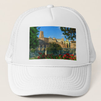 Trajan's forum, Traiani, Roma, Italy Trucker Hat
