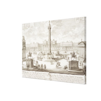 Trajan's Square Rome, from 'Entwurf einer historis Canvas Print
