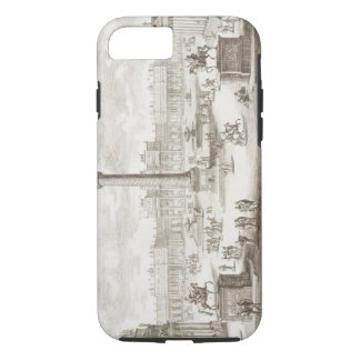 Trajan's Square Rome, from 'Entwurf einer historis iPhone 7 Case