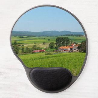 Tramcar in death living gel mouse pad