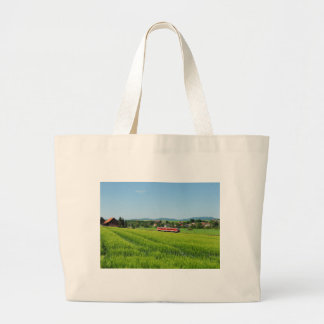 Tramcar in Simtshausen Large Tote Bag