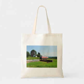Tramcar in Simtshausen Tote Bag