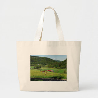 Tramcar with Ederbringhausen Large Tote Bag