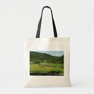 Tramcar with Ederbringhausen Tote Bag