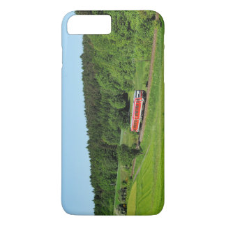 Tramcar with meadow field iPhone 8 plus/7 plus case