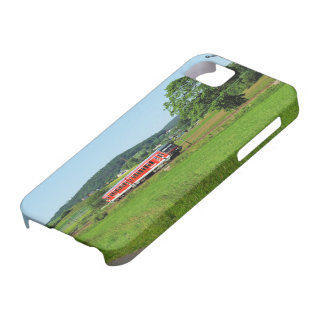 Tramcar with Muenchhausen iPhone 5 Case