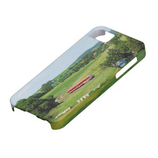 Tramcar with Muenchhausen iPhone 5 Cover