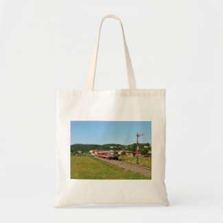 Tramcar with Muenchhausen Tote Bag