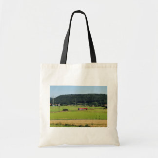 Tramcar with Sarnau Tote Bag