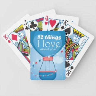 Tramp love letter deck of cards