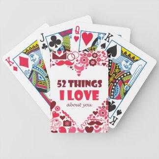 Tramp love letter poker deck