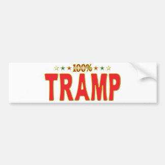Tramp Star Tag Bumper Sticker