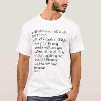 Tramping on the Chats T-Shirt