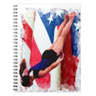 Trampoline Gymnast Notebook