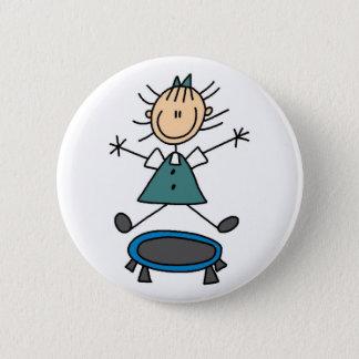 Trampoline Stick Figure Button