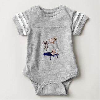 trampolining pussys baby bodysuit