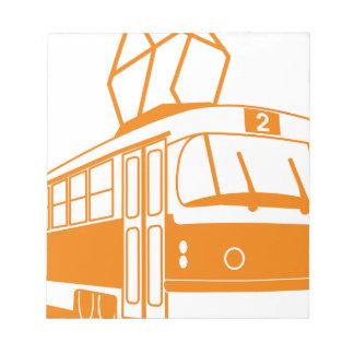 Tramway transportation electric notepad