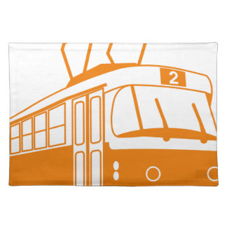 Tramway transportation electric placemat