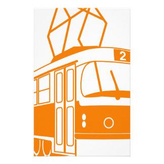 Tramway transportation electric stationery