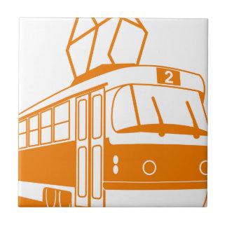 Tramway transportation electric tile