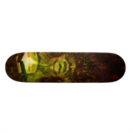 Trance board custom skateboard