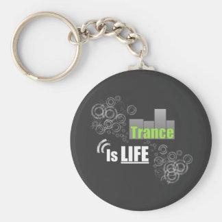 Trance Is Life Key Ring