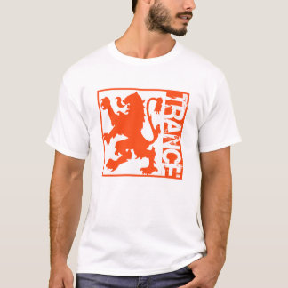 Trance Lion Orange T-Shirt