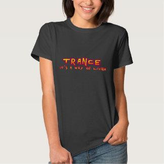 trance living t shirt