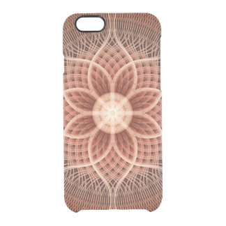 Trance Lotus Mandala Clear iPhone 6/6S Case