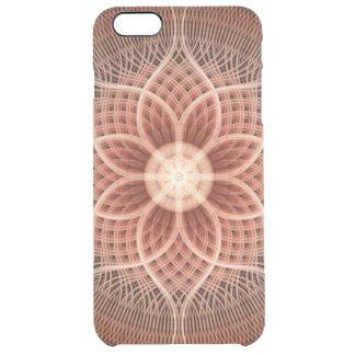 Trance Lotus Mandala Clear iPhone 6 Plus Case